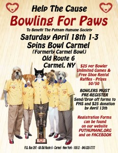 Bowling for Paws 2015